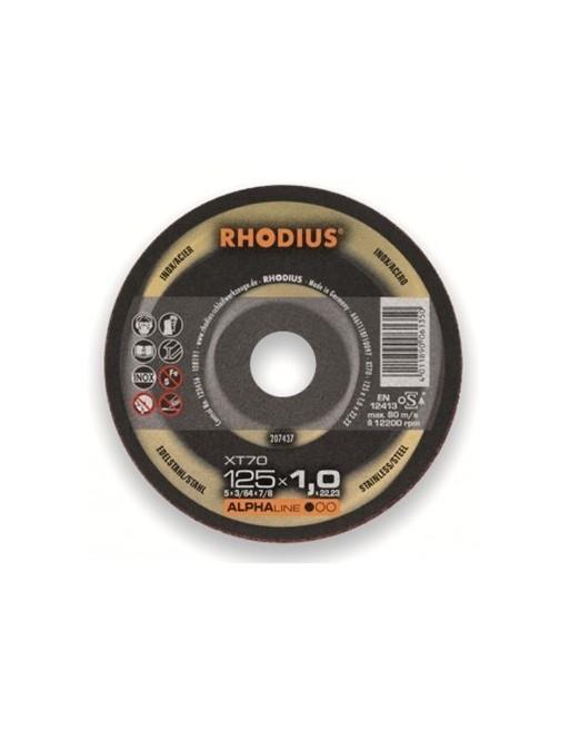 Rhodius Skæreskive XT70 125x1,0