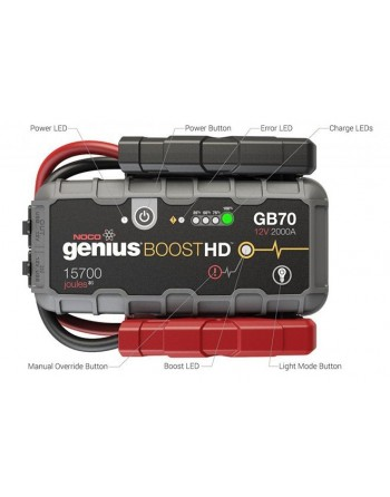 Noco Genius GB70 Booster HD