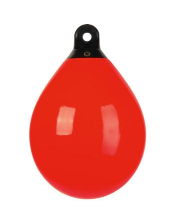 Jorbær fender b 60  rød Ø 480 mm