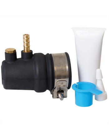 Gummipakdåse vand.ø40mm aksel, 60mm rør