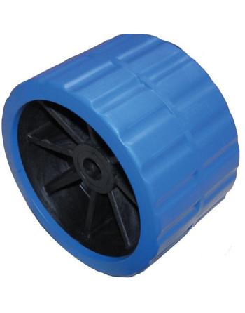Løs siderulle blå, hul ø21mm