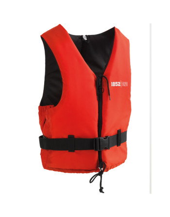 1852 svømmevest iso 50n active rød/sort 90+ kg